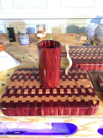 RPG Woodworking: End grain cutting boards