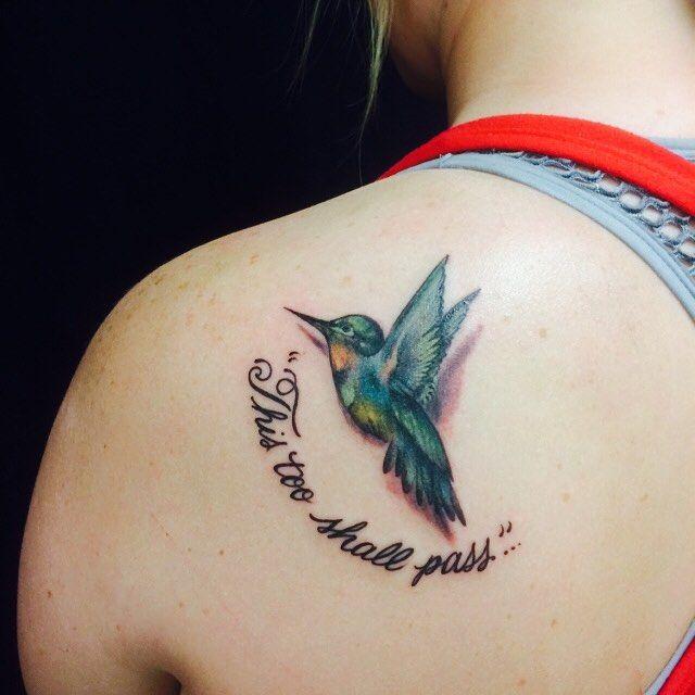 Tattoo ideas for women: Hummingbird tattoo ideas!