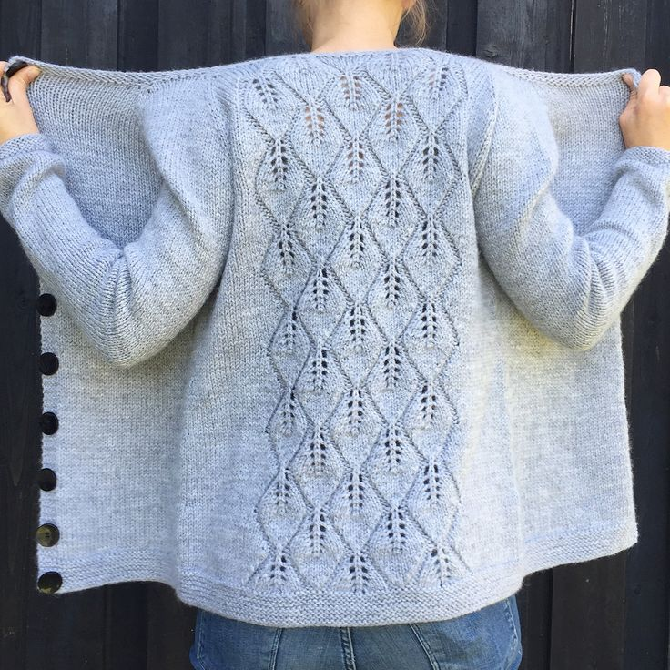 Ravelry: Løvfallkardigan / Falling Leaves Cardigan by Strikkelisa
