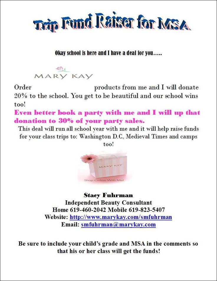 mary flyer ideas