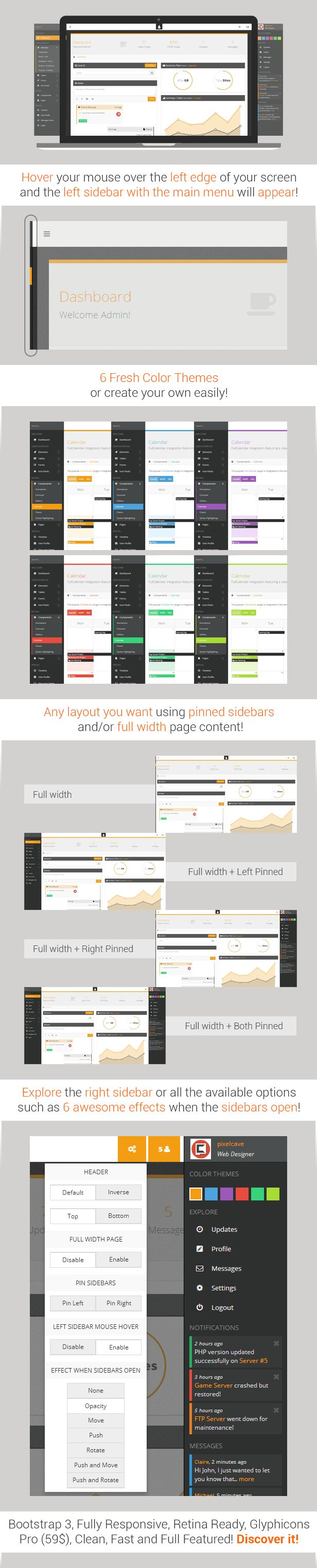 17 best Bootstrap Theme images on Pinterest | Template, Role models ...