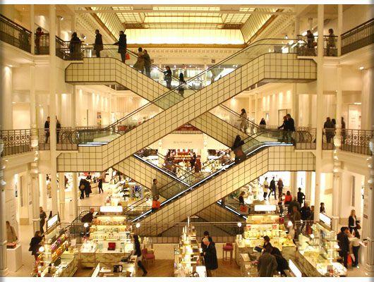 Le Bon Marché - one of our favorite places to shop in Paris!