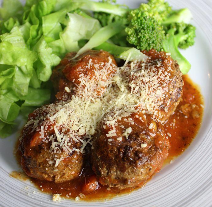 Receitas low carb   Porpeta italiana recheada com queijo derretido