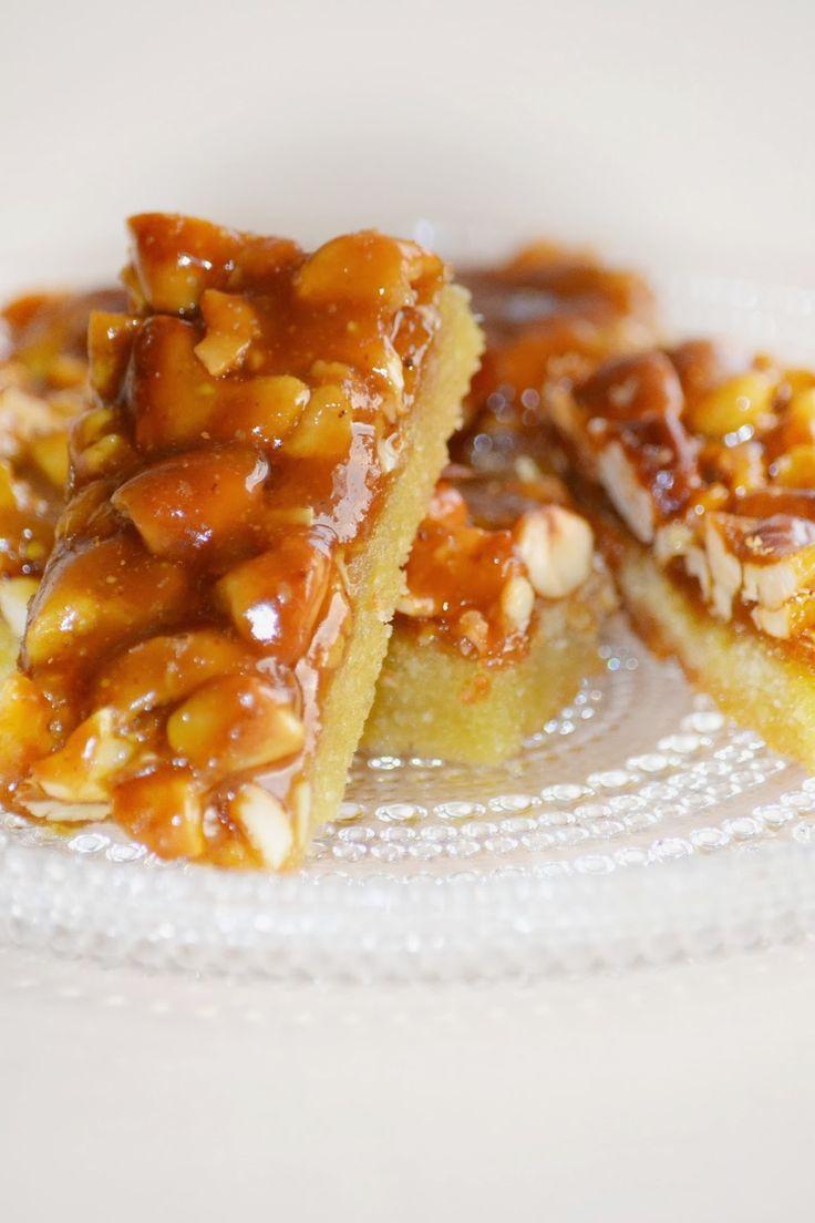 Sweet Dreams...: Toffeiset pähkinäpatukat