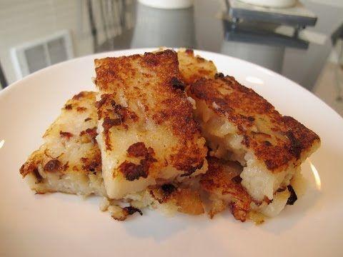 The Best Pan Fried Turnip Cake Recipe | Dim Sum Central