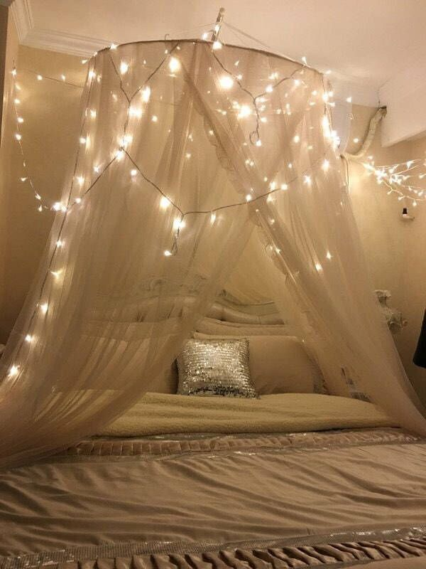 Sheer bedding canopy , mesh bed curtain, bed canopy , wedding canopy , bohemian bedroom decor, bedding mosquito net by InOneBox on Etsy https://www.etsy.com/listing/521755211/sheer-bedding-canopy-mesh-bed-curtain