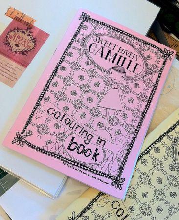 Camille Colouring Book - hardtofind.