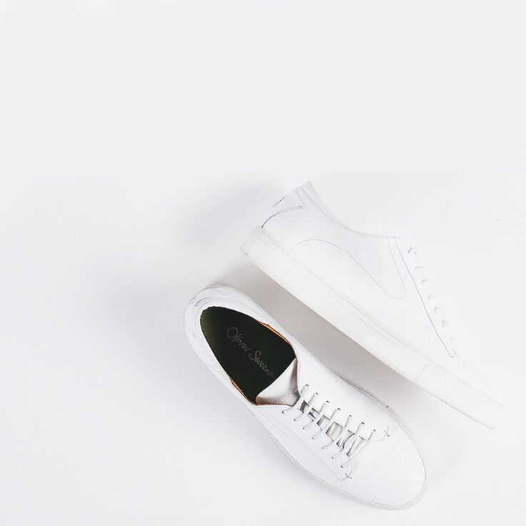 Osimo White trainers - the classic