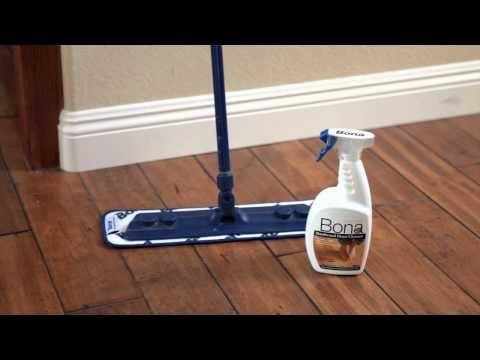 Cleaning can be done quickly with a few low-cost cleaning tools and a regular care routine keeps the hardwood floor looking its best. Always clean your wood floors periodically with a professional wood floor cleaning product recommended by a wood flooring professional and/or the manufacturer of your hardwood floor product.