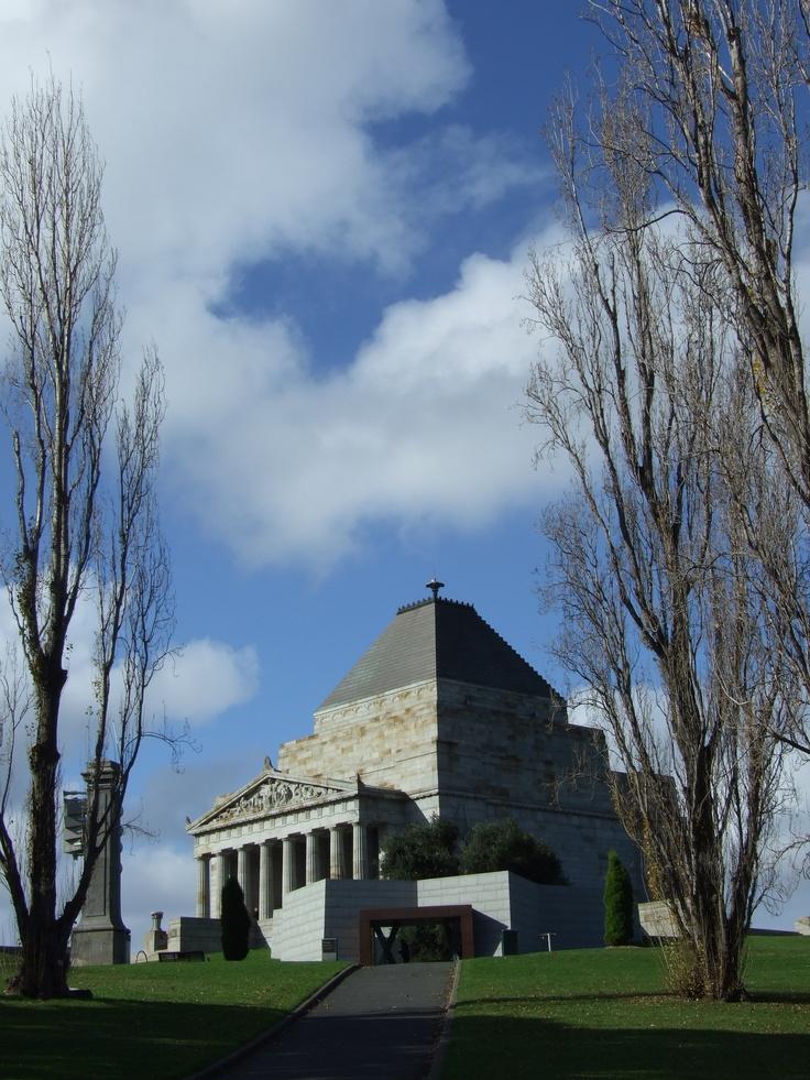 Shrine of Remembrance, Melbourne, Australia 2011
