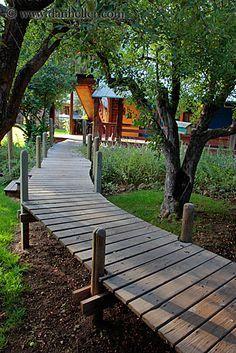 house raised walkway - Google Search