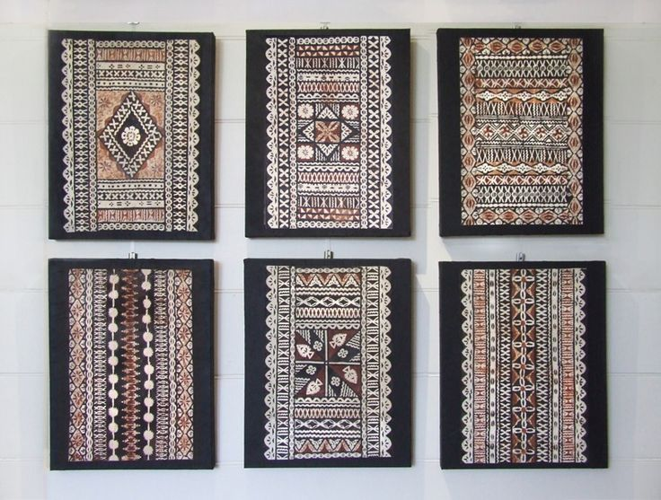 Selection of small Masi on canvas