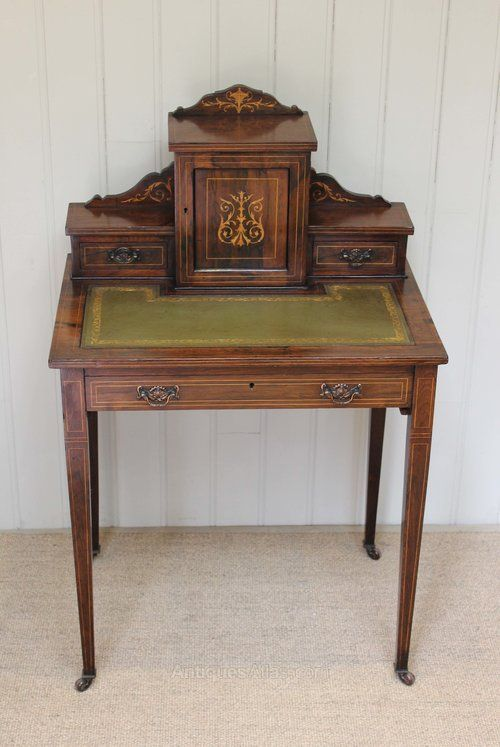 Late Victorian Rosewood Ladies Desk - Antiques Atlas