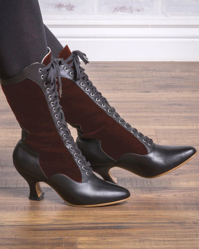 Victorian Boots & Shoes Granny Boots & Shoes | Victorian