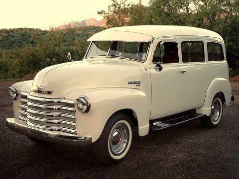 1951 Chevy Suburban Carryall