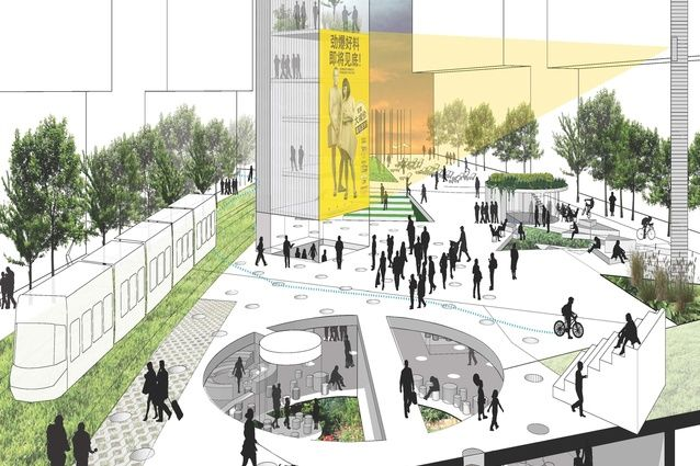 Green Square Library & Plaza unveiled