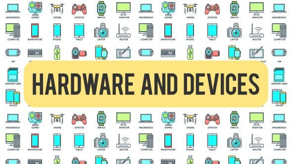 Hardware And Devices - 30 Animated Icons | After Effects