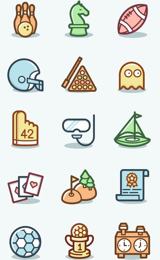 Capitalist Icons Set — A collection of 600 icons in 2 styles with an original…