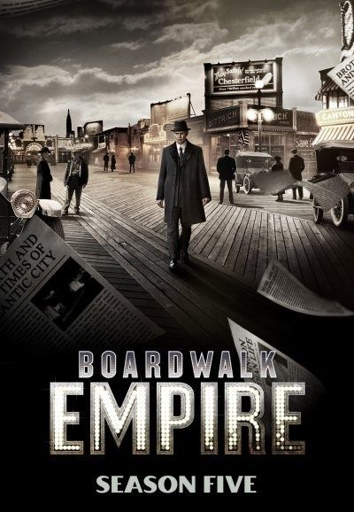 New at Fredricksen Library! Boardwalk Empire Season 5