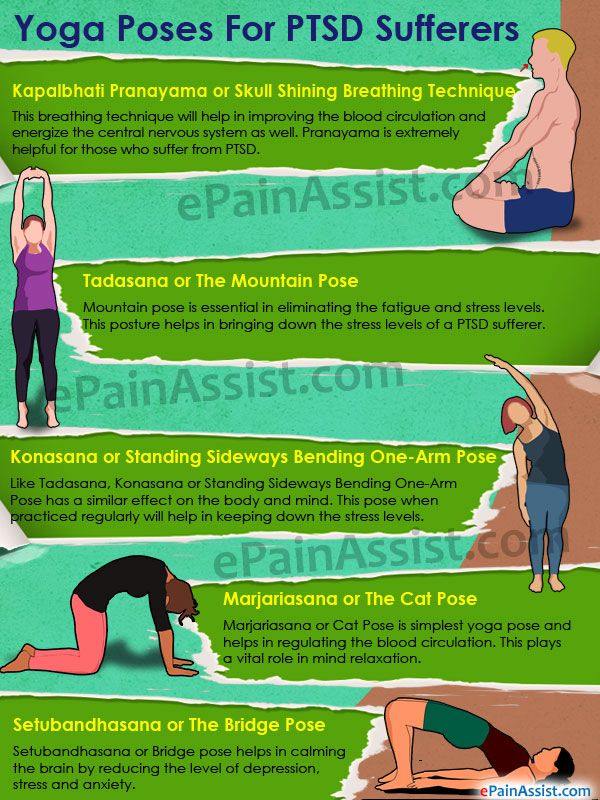Yoga Poses for PTSD