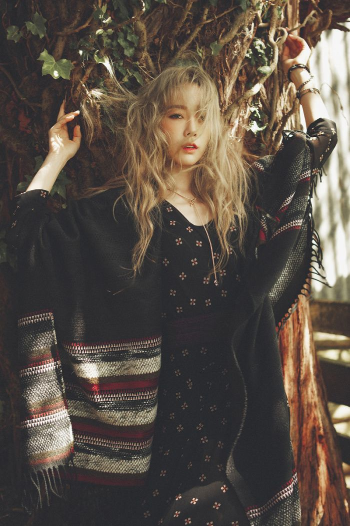 SNSD Girls' Generation Taeyeon Official Solo Album 'I' HQ Concept Pictures   KPOPGIRLSININDIA