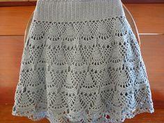 Izildinha.com: falda de encaje.