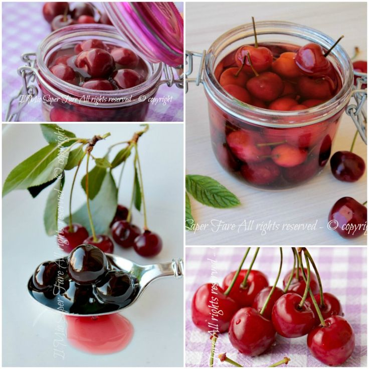 Come conservare le ciliegie e le amarene in modo facile e sicuro per gustarle in inverno o aggiungerle ai dolci.C'è anche una tisana drenante con i piccioli