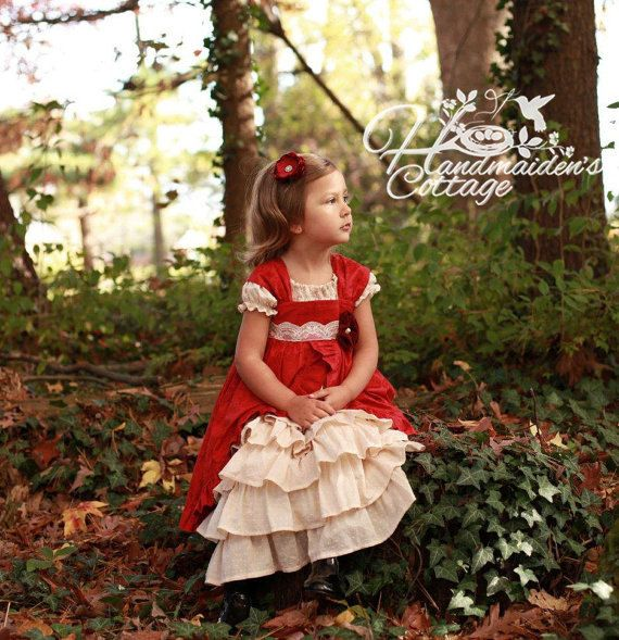 Adorable Little Girls 2 Piece Dress Sewing PDF Pattern    Petticoat+and+Pinafore+PDF+Pattern+Set+Sizes+by+HandmaidensCottage
