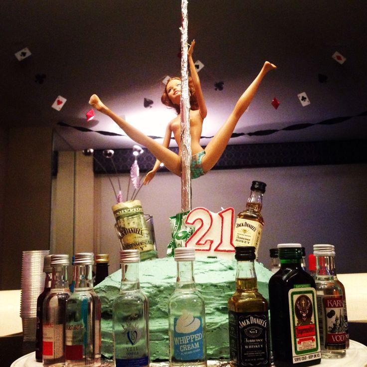 Alcohol 21st Birthday Cake Ideas For Boyfriend