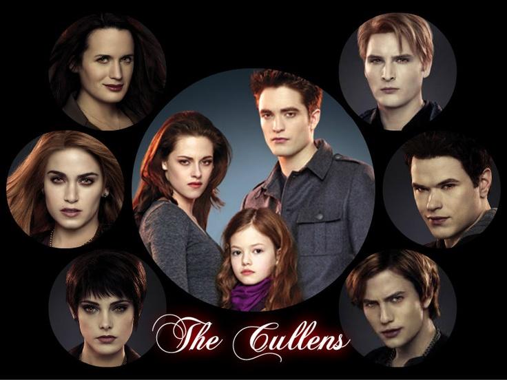 Cullen Family: Naked fun