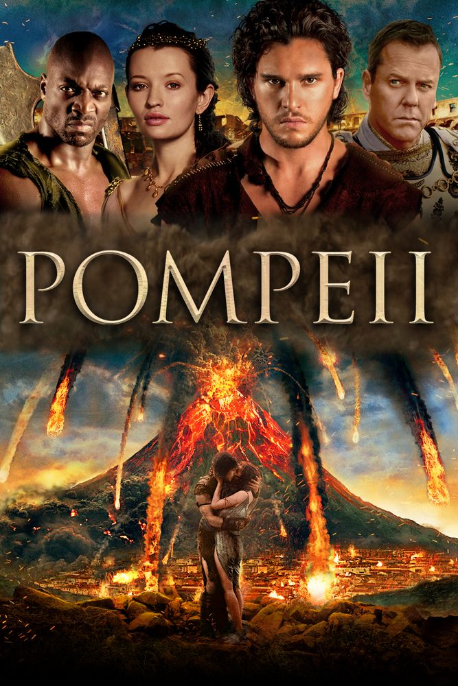 Pompeii Movie Poster - Kit Harington, Carrie-Anne Moss, Emily Browning #Pompeii, #MoviePoster, #ActionAdventure, #PaulW, #Anderson, #Carrie, #AnneMoss, #EmilyBrowning, #KitHarington
