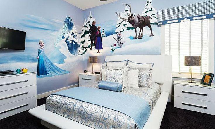 | Decoración Frozen para habitaciones infantiles - Decofilia
