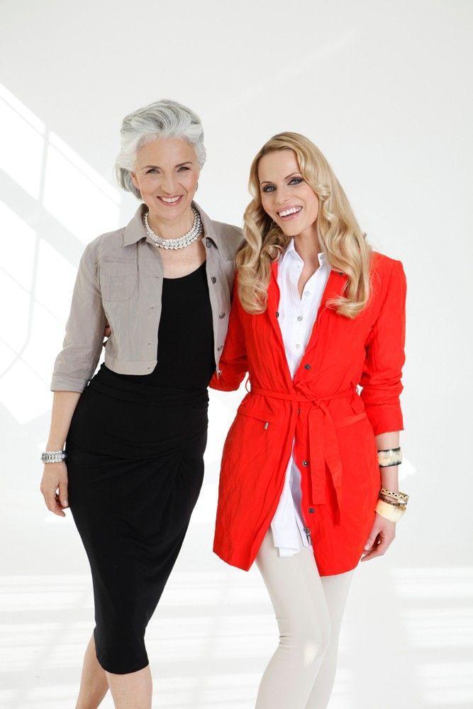 ADVANCED STYLE: SILVER - Model Management - Agence de Mannequins. #vestido #tubinho #preto #casaco #cinza #vermelho #calça #branco #grisalho