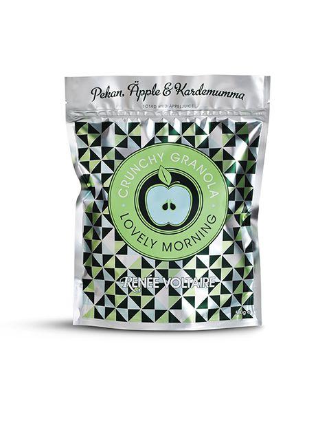 Crunchy Granola Pekannöt, Äpple & Kardemumma, Renée Voltaire Webbshop