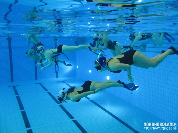 Nordhordland Folkehøgskole, undervannsrugby