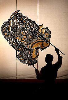 Khmer shadow theatre - Cambodia