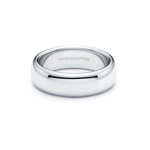 Lucida® Wedding Band ($2,275) ❤ liked on Polyvore featuring jewelry, rings, wedding, accessories, gioielli, platinum jewellery, wedding band ring, tiffany co rings, platinum wedding rings and platinum jewelry