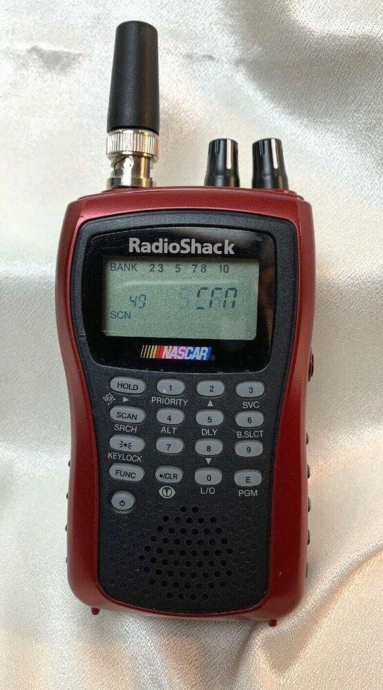 RADIO SHACK 05A06 NASCAR RACING SCANNER #RadioShack in 2020 | Radio shack. Nascar racing. Radio shack scanner