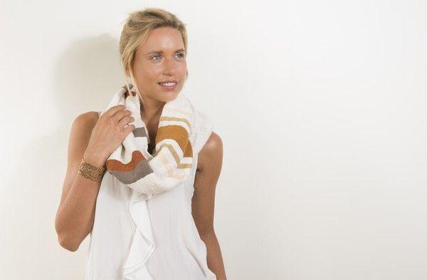 Snood hiburt - 100% fait main -100% éthique By Dana Esteline