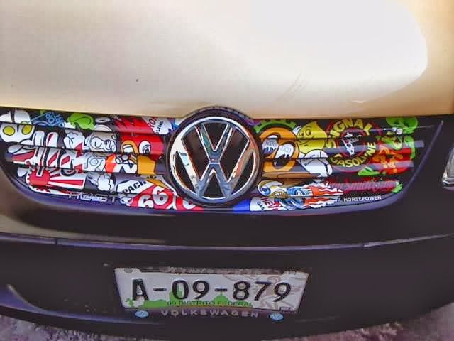 custom stickerd  vw jetta mk grille awesome vws pinterest custom stickers  stickers