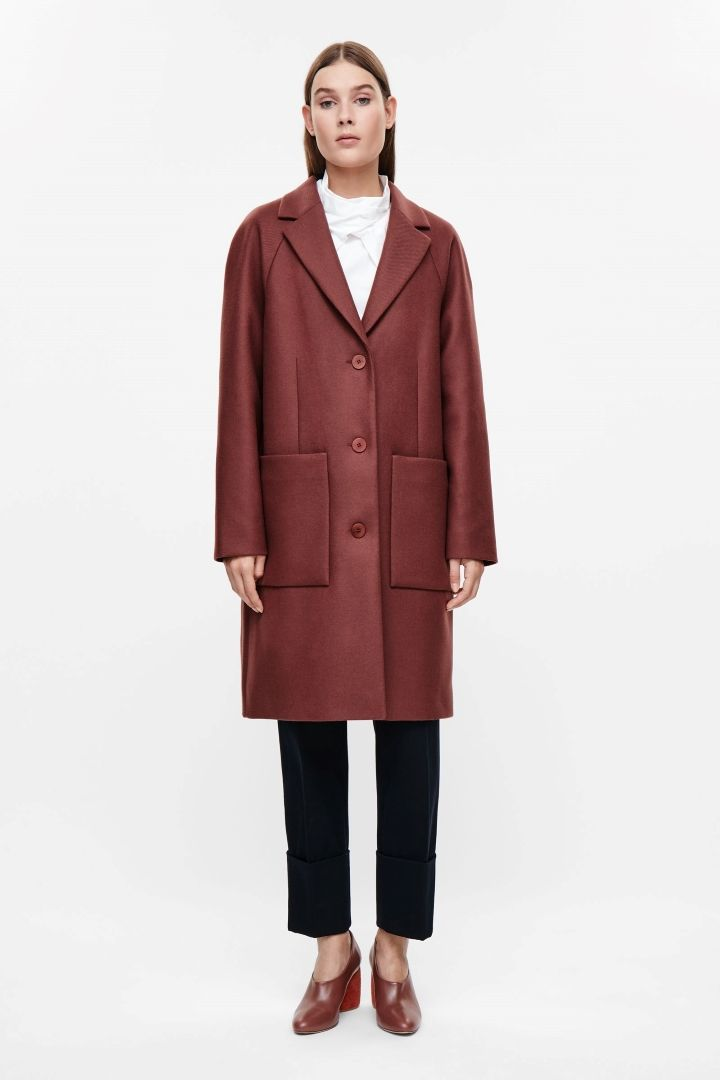 COS | Rounded wool coat