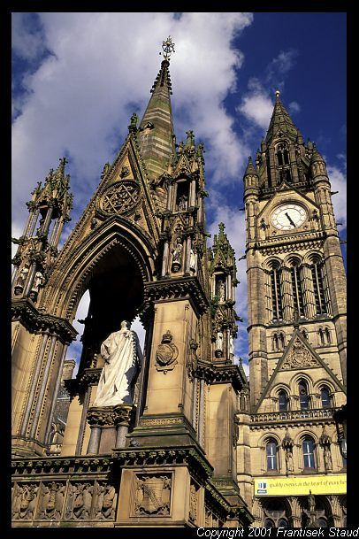 Albert Square, Manchester, UK