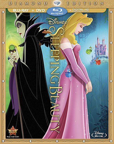 The Sleeping Beauty Diamond Edition was released today on blu-ray and DVD. This marks the second time that Disney has released it from the vault on blu-ray disc. #disneymovies #sleepingbeauty