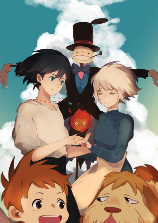 Howl's Moving Castle | by tokocoo.tumblr.com