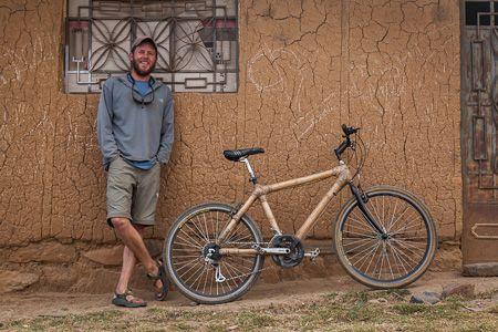 Ben's Bici Cooperative, Shirapucro, Peru: Bamboo Frame Bike
