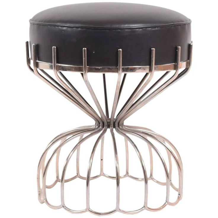 French Stool from 1970s   From a unique collection of antique and modern stools at https://www.1stdibs.com/furniture/seating/stools/