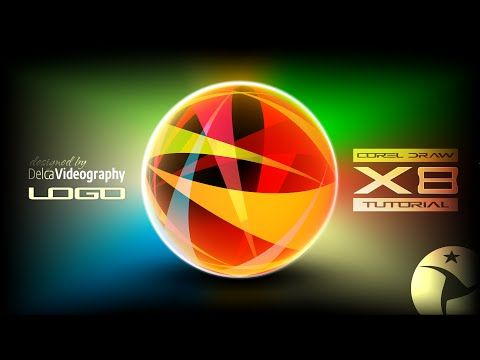 (AVANZADO) LOGO PROFESIONAL TUTORIAL 31 COREL DRAW X8, X7, X6 y X5 - YouTube