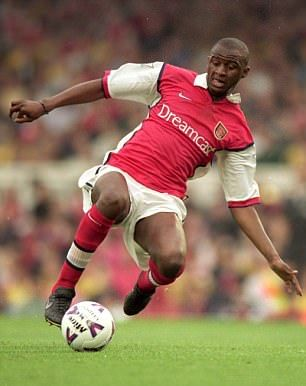 Patrick Vieira led Arsenal to glory in the league