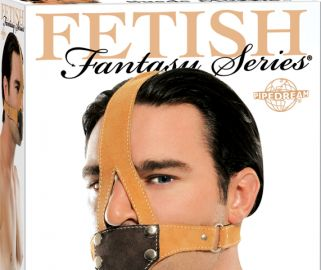 Take control over when and how often your lover speaks with this sexy Fetish Fantasy Suede Muzzle. Perfect for training your partner that silence is golden, this muzzle features an adjustable belt buckle and snap-on mouth cover. Leave the cover on to drown out the most recognizable sound, or take it off and your subject's mouth is open for oral delights. One size fits most.
