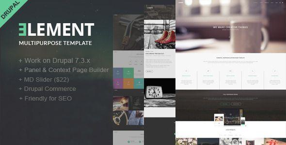Element-Multipurpose Drupal Theme